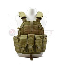 EMERSON Tactical Vest with M4 pouches - KH