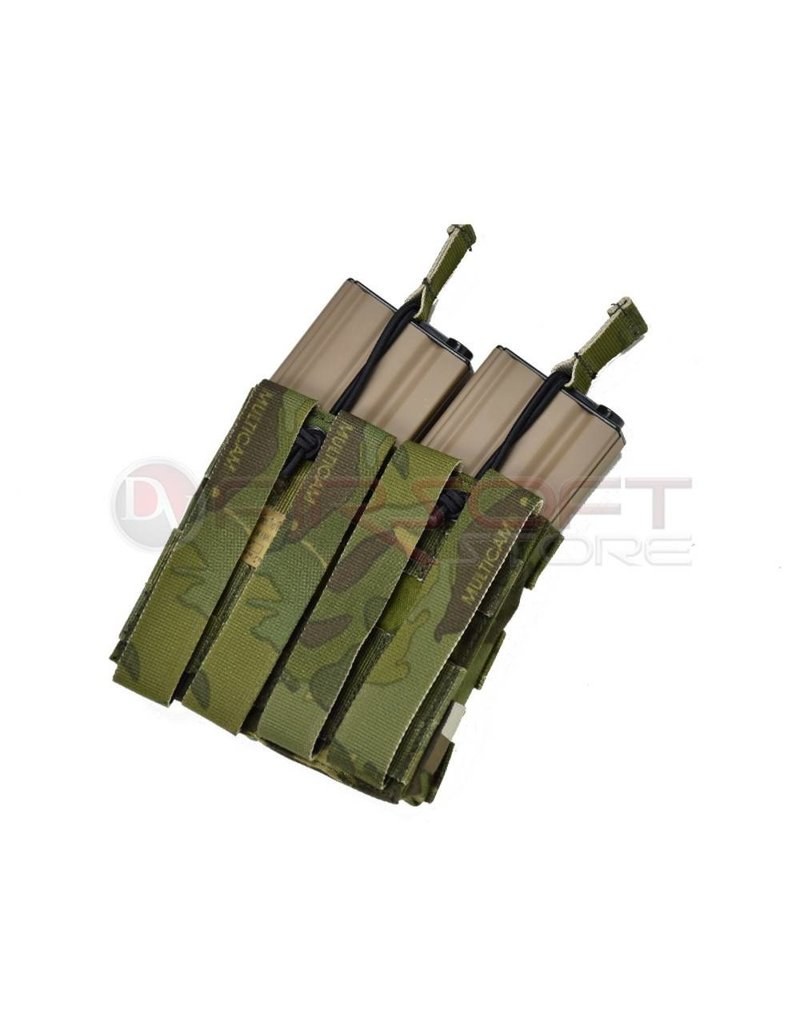EMERSON Emerson Double Open Top  5.56 Magazine Pouch - MC Tropic