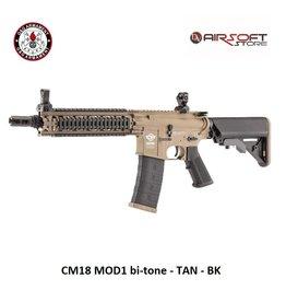 G&G CM18 MOD1 bi-tone - TAN - BK