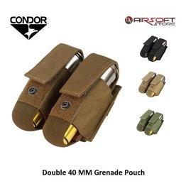 CONDOR Doppel 40mm Granatentasche