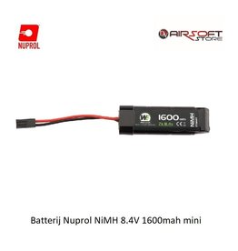 NUPROL Batterij Nuprol NiMH 8.4V 1600mah mini