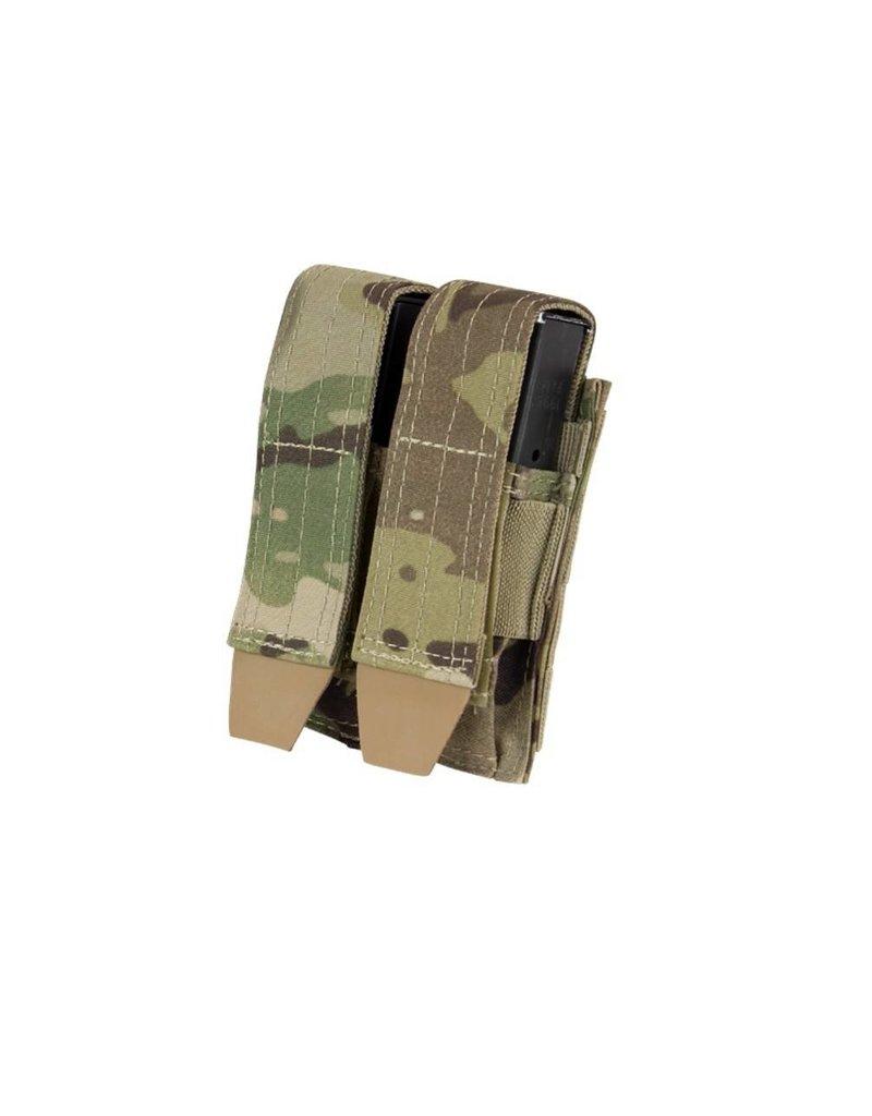 CONDOR Double Pistol Mag pouch - MultiCam