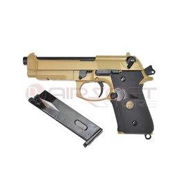 WE WE M9A1 Full Metal - Tan GBB