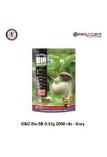 G&G G&G Bio BB 0.33g 2000 rds - Grey