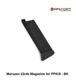 Walther Maruzen 22rds Magazine for PPK/S - BK