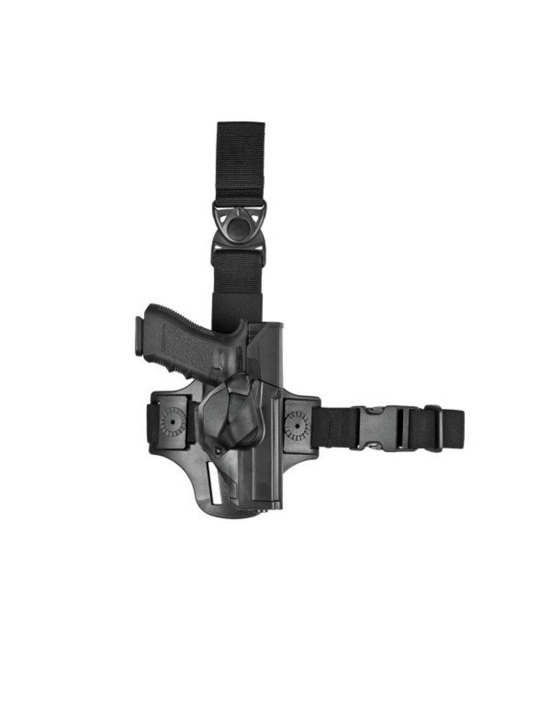 Vega Holster Quick Draw Holster Glock 17 19 - BK