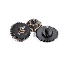 - Gear Set 100:200 Steel CNC - Helical High Torque