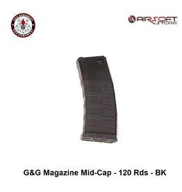 G&G G&G Magazine Mid-Cap - 120 Rds - BK