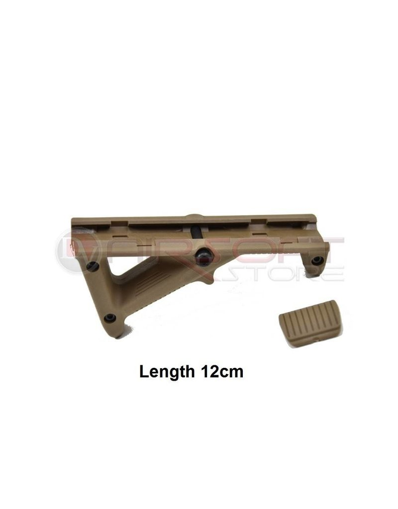 - Angled Fore Grip (small) - Tan