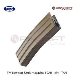 Tokyo Marui TM Low cap 82rds magazine SCAR - M4