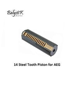 Balystik 14 Steel Tooth Piston for AEG