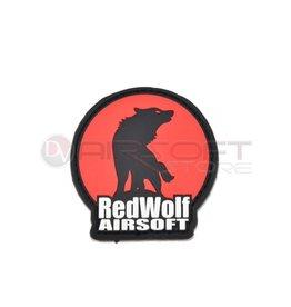 Redwolf Redwolf Logo Velcro PVC Patch - Red