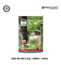 G&G G&G Bio BB 0.25g - 2000ct - white