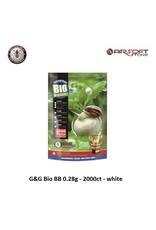 G&G G&G Bio BB 0.28g - 2000ct - white