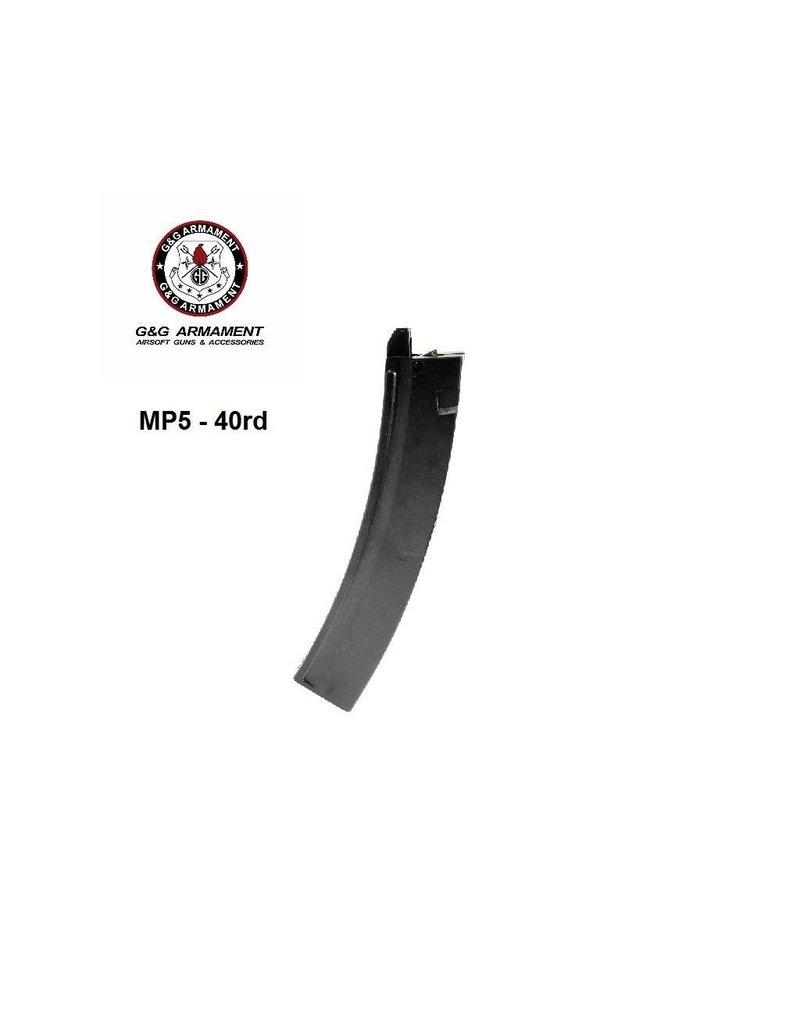 G&G Magazine MP5 40rd Low Cap