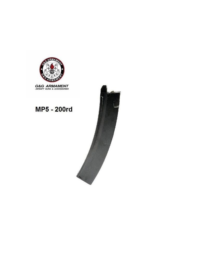 G&G Magazine MP5 200rd Hi-Cap