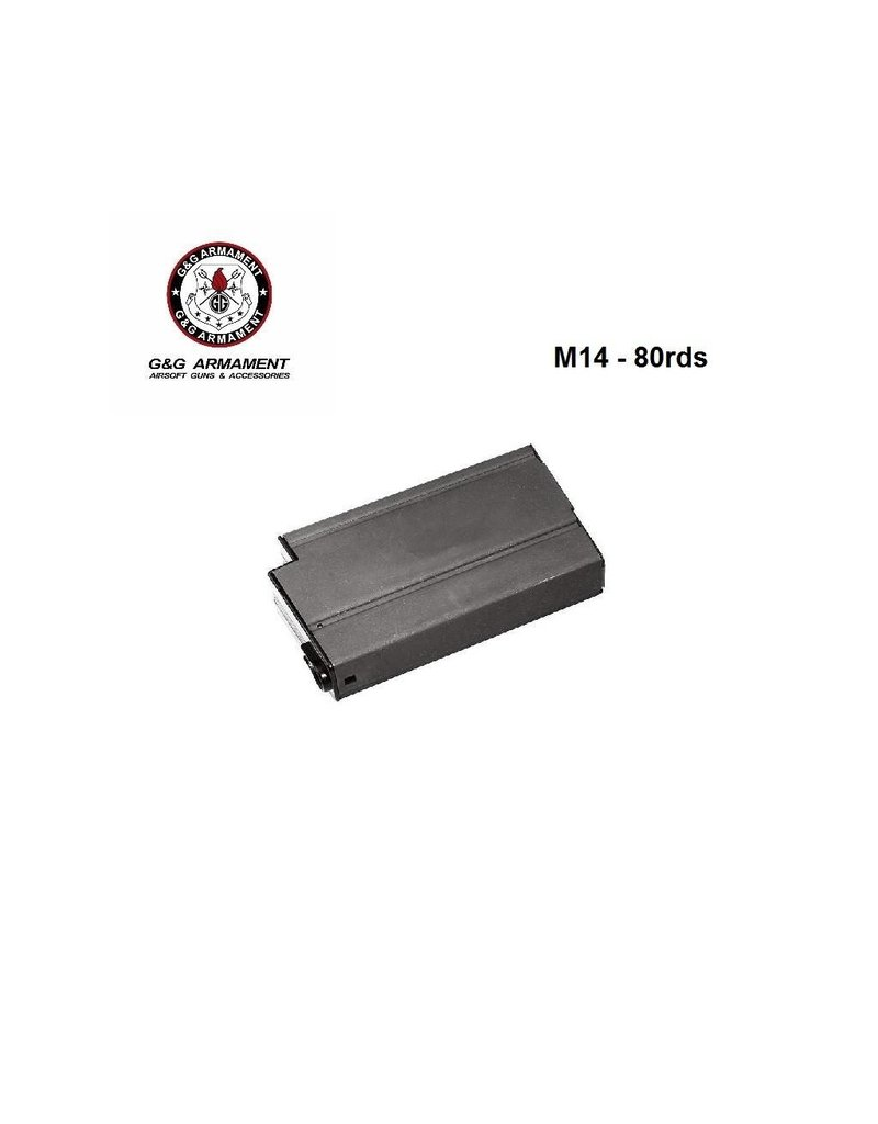 G&G Magazine M14 Low Cap - 80 rds
