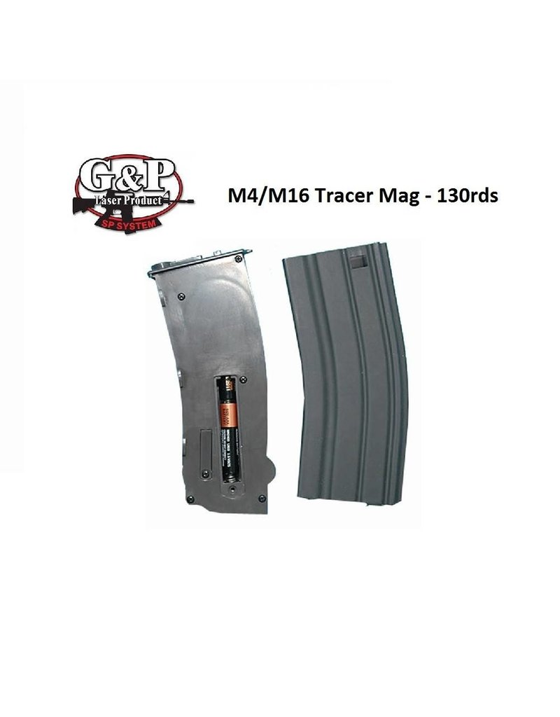G&P Tracer Magazine For M4 130rds - Grey