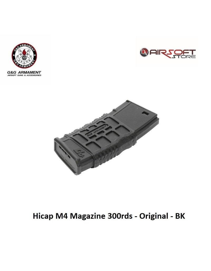 G&G Hicap M4 Magazine 300rds - Original - BK