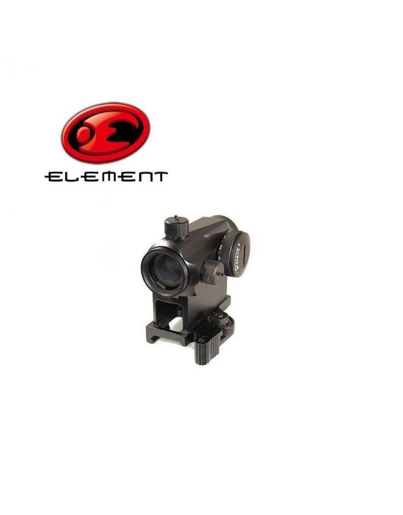 Element T1 QD Red Dot - BK