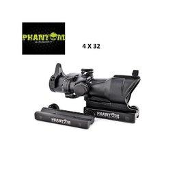 Phantom Riflescope 4X32 ACG - BK