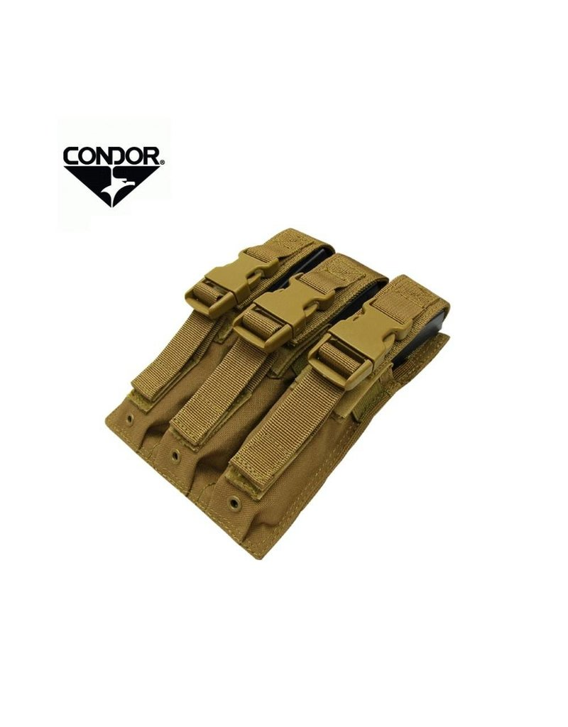 CONDOR Triple Mag Pouch for MP5 & UMP