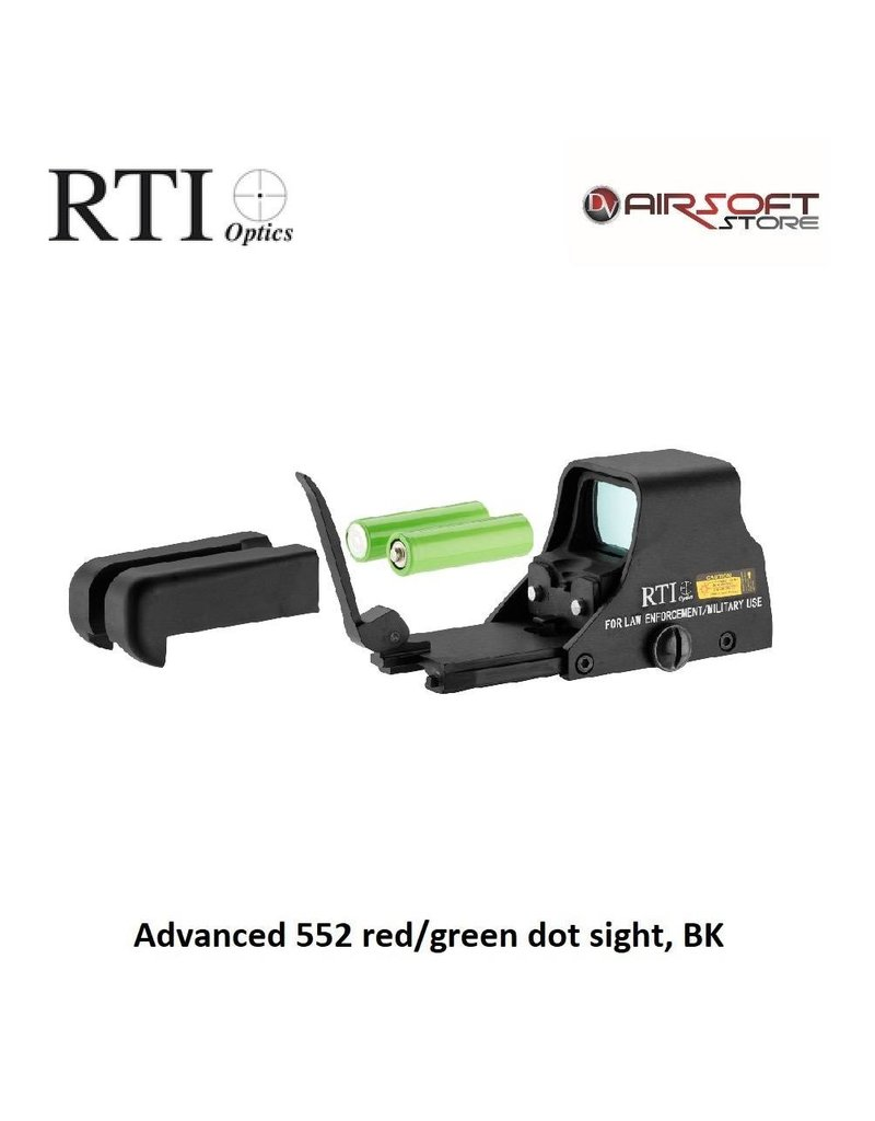 ASG Advanced 552 Rot / Grün Dot Anblick, BK