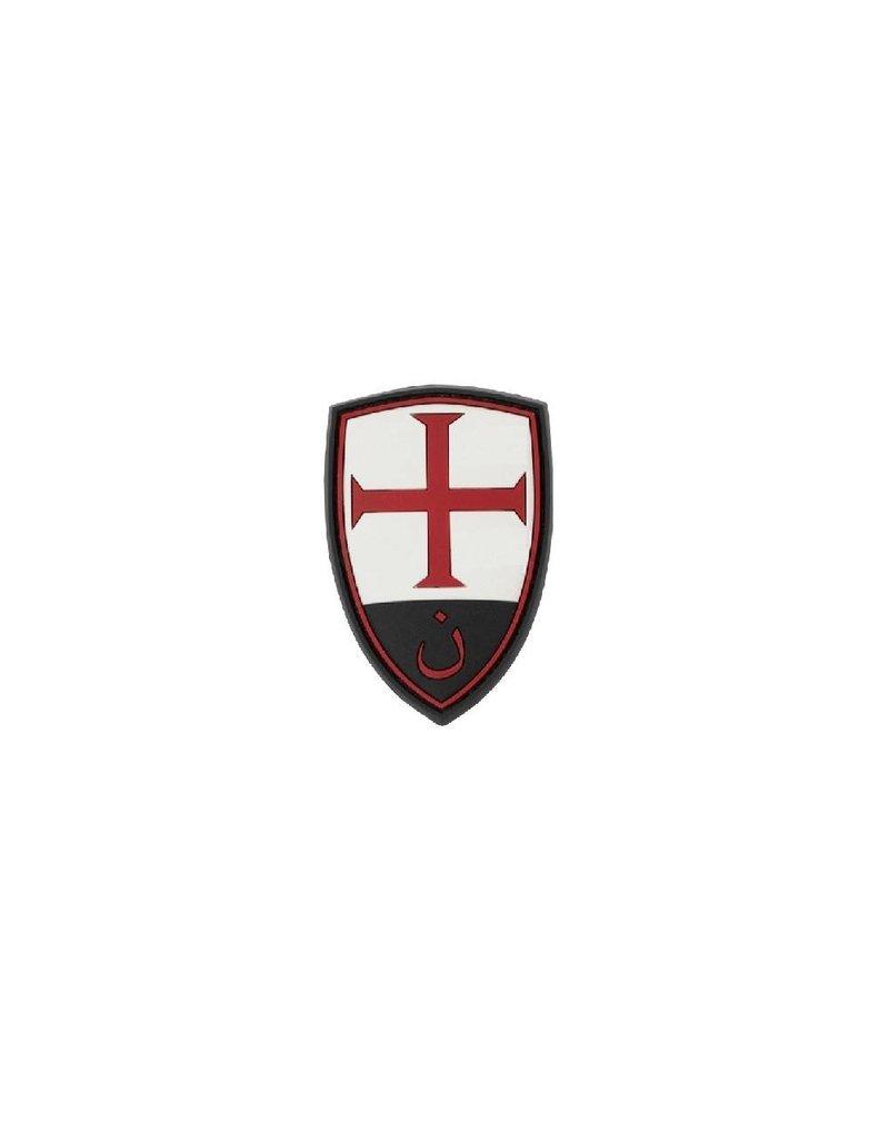 JTG Crusader Shield Rubber Patch - Color