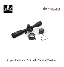 PIRATE ARMS Scope Illuminated 3-9 x 44 - Tactical Version
