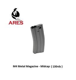 Ares M4 Magazine - Metal - Midcap - 130rds - GREY