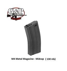 G&P M4 Magazine - Midcap - 130rds - BK