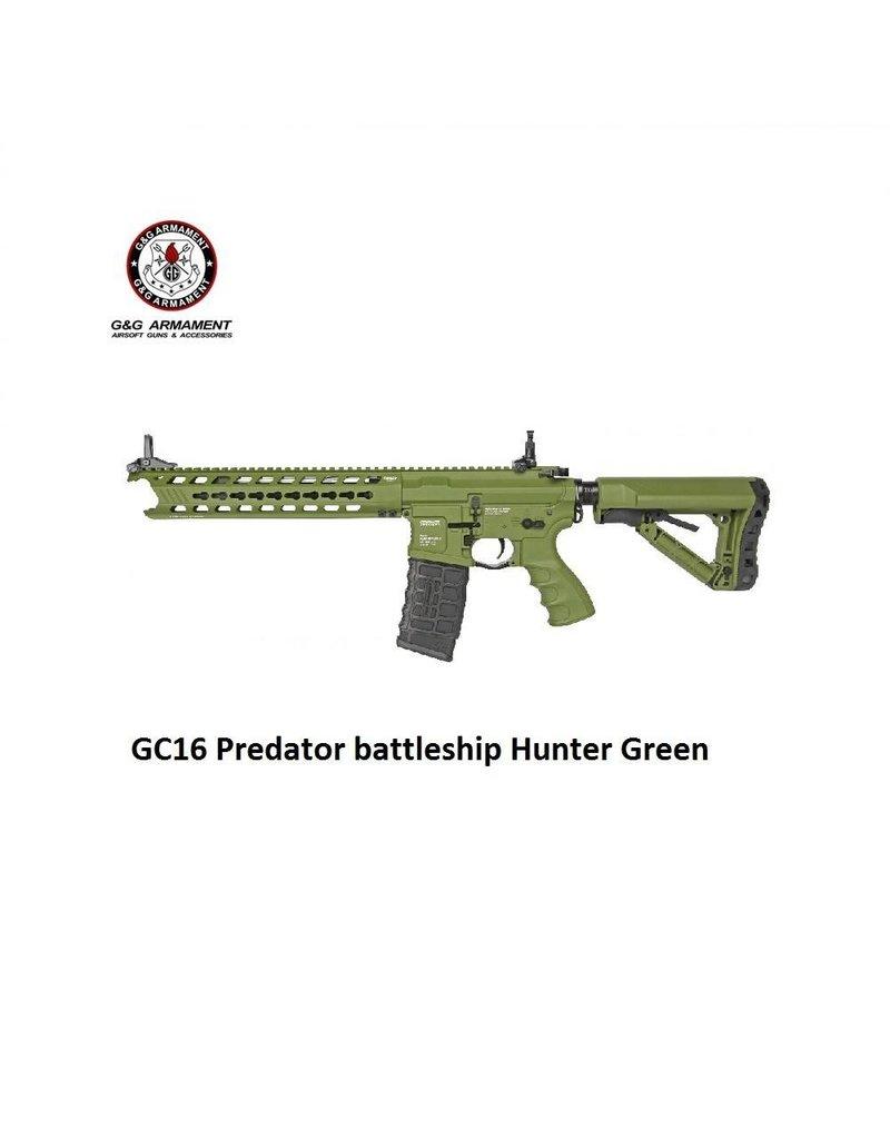 G&G GC16 Predator battleship Hunter Green