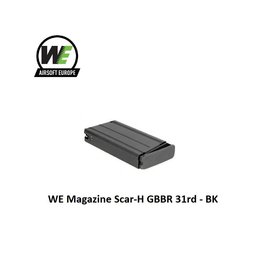 WE WE Magazine Scar-H GBBR 31rd - BK