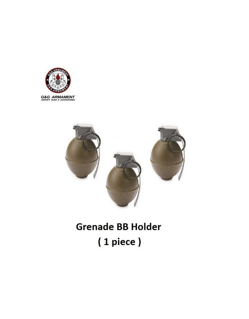 G&G Dummy M26 Grenade BB Holder