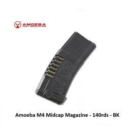 Amoeba M4 Midcap magazine 140rds - BK