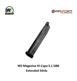 WE Magazine WE Hi-Capa 5.1 GBB Extended 50rds