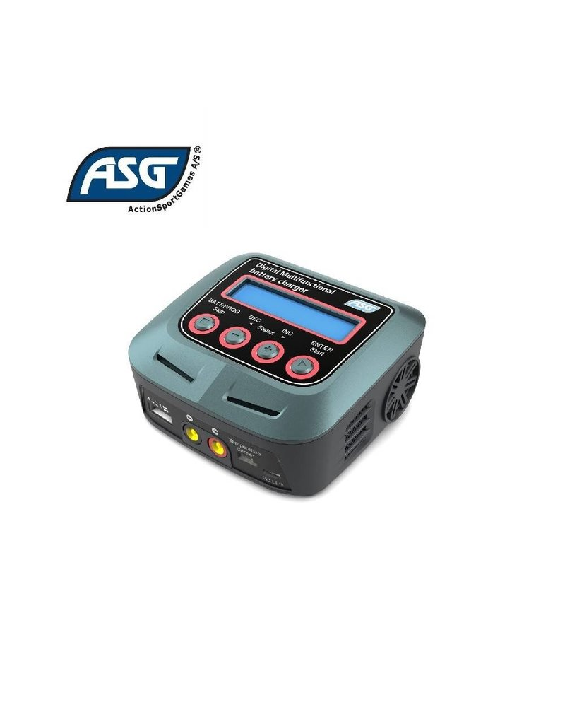 ASG Battery Charger, Digital, Multifunctional, Auto Stop