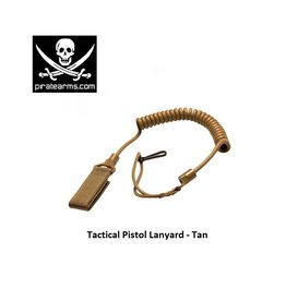 PIRATE ARMS Pistol lanyard - Tactical - Tan