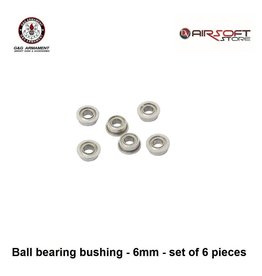 G&G Ball bearing bushing - 6mm - set of 6 pieces