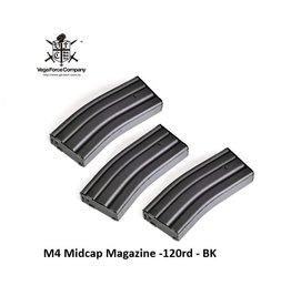 VFC M4 Midcap Magazine -120rd - Grey (3 pcs)