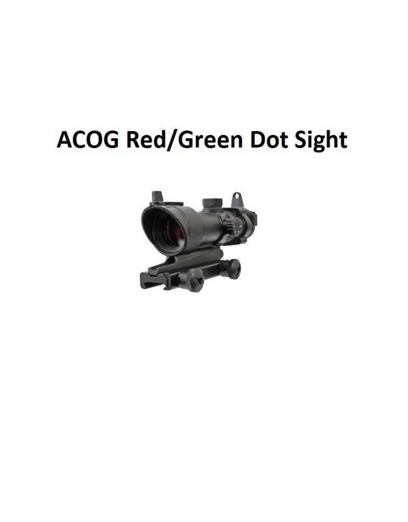 ACOG Red Dot Sight (Red/Green) - BK
