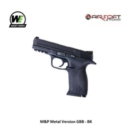 WE M&P Metal Version GBB - BK
