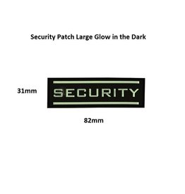 JTG Patch - SECURITY - Large Glow in the Dark