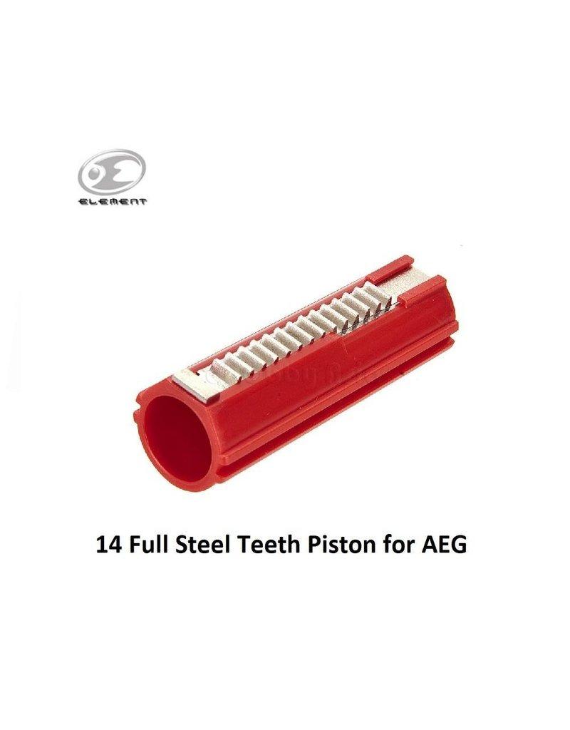 Element 14 Full Steel Teeth Piston