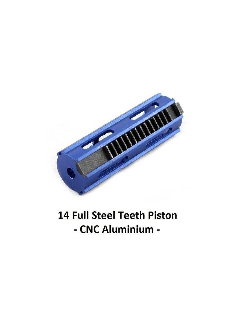 BD Custom 14 Full Steel Teeth Piston - CNC Aluminium