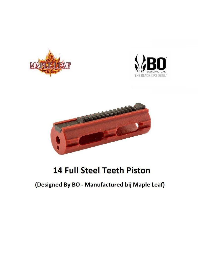 BO 14 Full Steel Teeth Piston