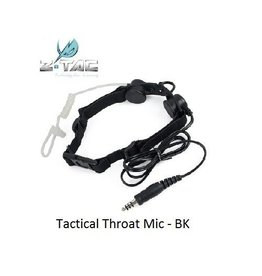 Z-Tactical Tactical Throat Mic - BK
