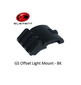 Element GS Offset Light Mount - BK