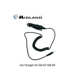 Midland Car Charger for G6-G7-G8-G9
