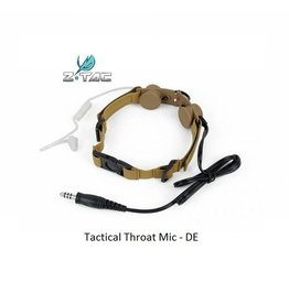 Z-Tactical Tactical Throat Mic - DE
